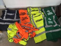 High visibility vests for events