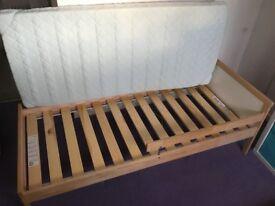 Ikea children's Bed and mattress