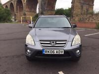 2006 Honda CR-V 2.2 CDTI MPV 4X4 Very Nice Drive Towbar Fitted Just Serviced Clean Interior PX Poss
