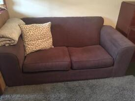 Brown couch / sofa