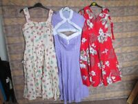 1950's Swing Dresses, worn only once