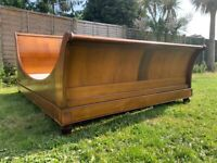 And So To Bed Luxury Cezanne Sleigh 5FT King Bed Frame & Base = Great Condition