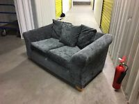 2 seater fabric sofa - very good condition // free delivery