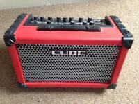 ROLAND CUBE Street Amp - lightweight, dual power, immaculate condition £195