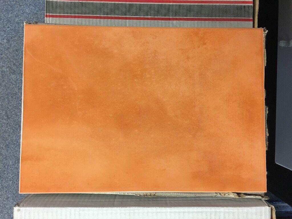 Wall Tiles - Tropico Naranja (Orange) - 365mm x 250mm (11 Tiles Per Box) - Priced Per Box