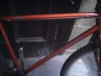 GARY FISHER ,MENS MOUNTAIN BIKE,18 INCH FRAME,26 INCH WHEELS,18 GEARS,GOOD CONDITION.