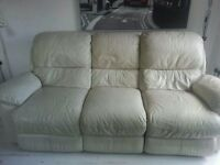Three seater recliner sofa (Furniture Village)