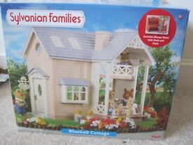 Sylvanian Families Bluebell Cottage (excellent condition)