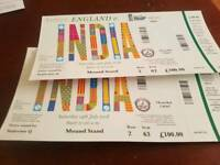 Lords tickets india england oneday