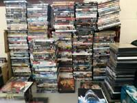 Collection of 400 mixed dvd.