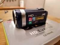 JVC HD Camcorder.