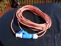 25m caravan camping electric hook up cable