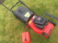 Petrol Lawnmower And Petrol Hedge trimmer - Collection From Abergavenny.