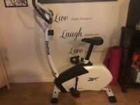 Reebok Exercise Bike 'As New' (in shops for £199)