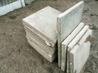 10 concrete council paving slabs