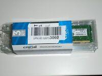 Crucial CT3KIT51272BA1067 12GB (3x 4GB) Server Memory Kit