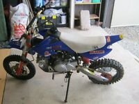 have this we pit bike for sale 125cc mint @300 ono