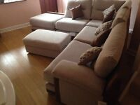 Hannah Corner Chaise Sofa For Sale