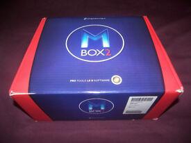 AVID Digidesign MBox 2 + Pro Tools 8.03 , USB Audio / Midi interface for PC and MAC.