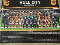 Signed hull city poster
