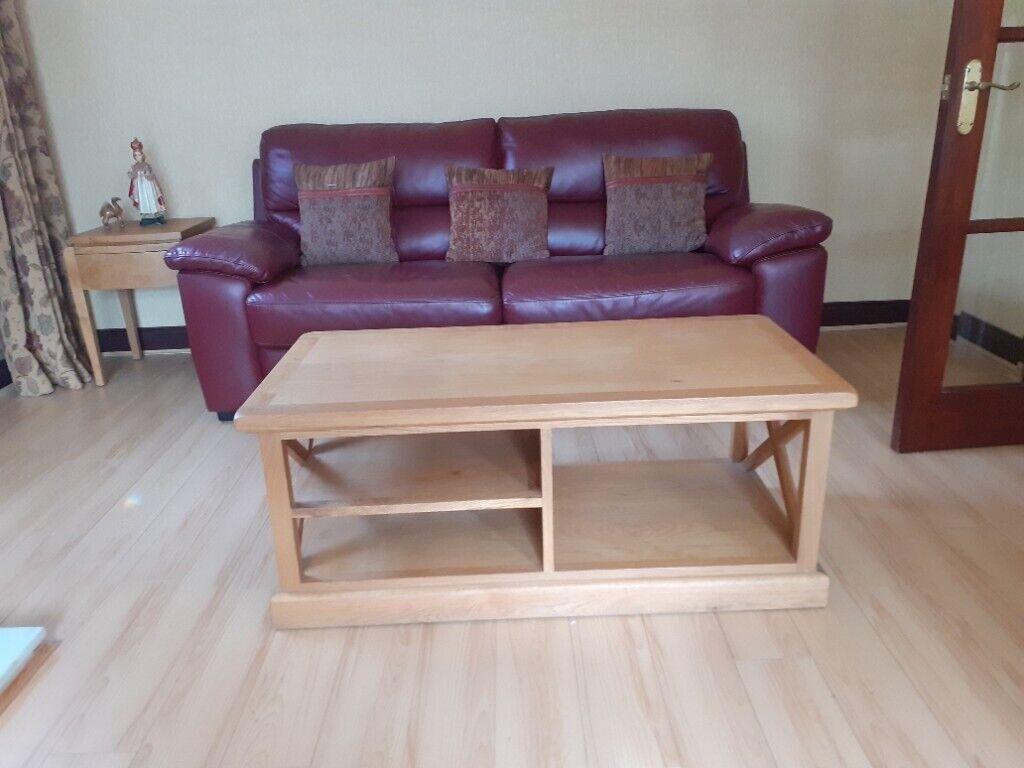 oak living room furniture  in andersonstown belfast
