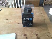 GoPro Hero 5 Black - Brand New and unopened