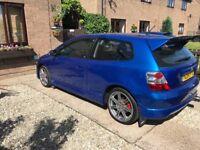 Honda Civic ep2 sport vivid blue