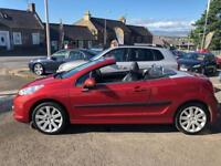 PEUGEOT 207 1.6 GT COUPE CABRIOLET 2d 118 BHP (red) 2007