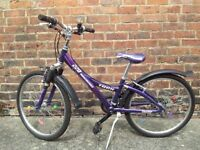 """Trek bike/bicycle for a girl/lady in very good conditions 24"""" wheels"""
