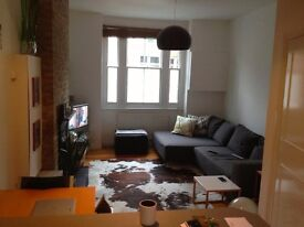 Zone 1, lovely one-bed Victorian garden flat, lots of storage, wooden floors, freshly decorated