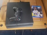 Playstation 4 with fifa 18
