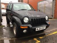 JEEP CHEROKEE 3.7 V6 Limited 5dr Auto (black) 2004