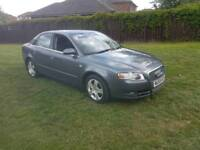 2006 AUDI A4 SE 1.9 TDI WITH A FULL YEAR M.O.T AND IN GREAT CONDITION FOR YEAR,