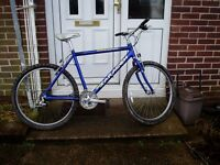 "SARACEN, MOUNTAIN BIKE, 20"" Alloy frame, 26"" alloy wheels, PROFESSIONALLY SERVICED."