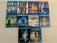 Selection of 10 Science Fiction Bluray films