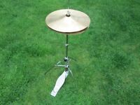 Drums - Beginners Basic Hi Cymbals and Stand