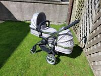 icandy peach blossom 2 twin pram/pushchair