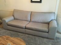 Large sofa and large love chair