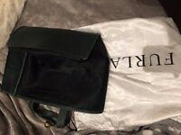 ORIGINAL Furla Dark Green Shopping Bag