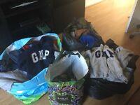 Boys clothing age 2-5. GAP kids clothing mostly.