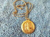 Mans St Christopher medal