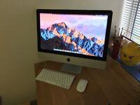 Apple iMac 21.5 (late 2011 model) 2.5GHz Core i5 / 16GB ram / 500GB HDD