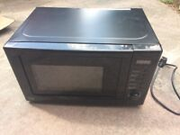 MICROWAVE OVEN George Home Model GDM301B-16 650 - 700W As New - Hardly used