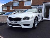 BMW Z4 2014 Msport Alpine white outstanding condition
