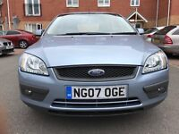 FORD FOCUS 1.6LTS MANUAL PETROL HATCHBACK WITH GENUINE LOW MILEAGE OF 60K MOT ENDS 14 JULY,2018