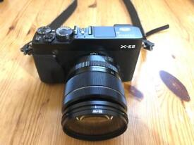 Fujifilm X-e2 body and 2 lens kit