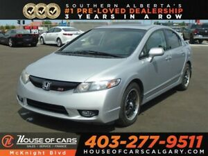 2010 Honda Civic SI / Six Speed Manual / i-VTEC