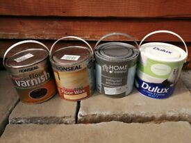 Paints & Stains £1