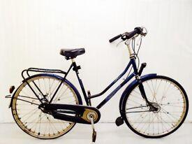 l BTAVUS Ladies Dutch City Bike, WARRANTY, Medium Frame, Hub Gears, Full Mudguards, Chain Guard