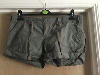 Khaki women's shorts